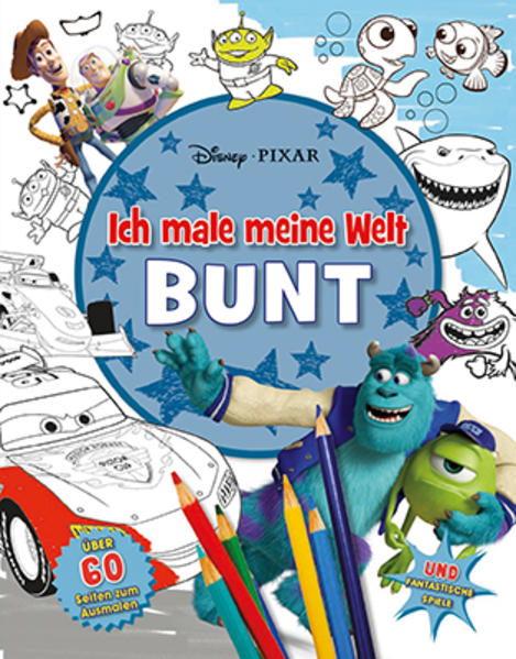 Disney Pixar Mach meine Welt bunt - Coverbild