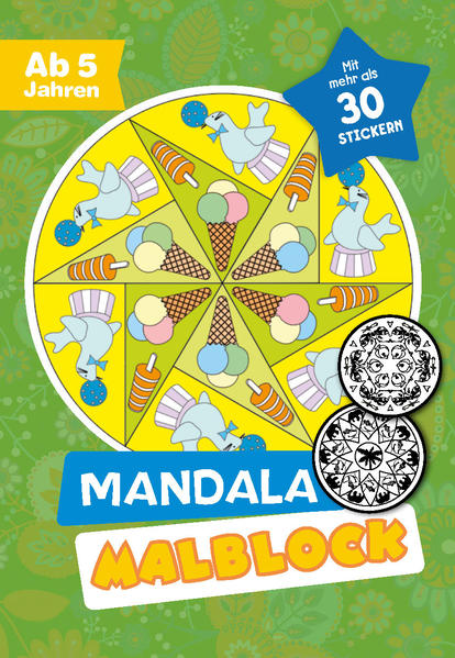 Malblock Mandala - Coverbild