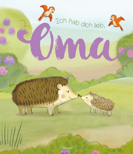 Ich hab dich lieb, Oma - Coverbild