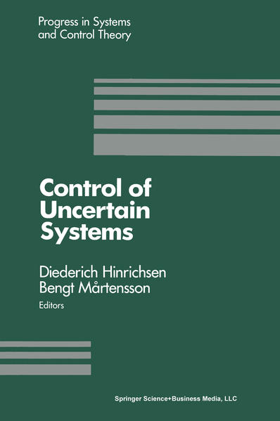 Control of Uncertain Systems - Coverbild