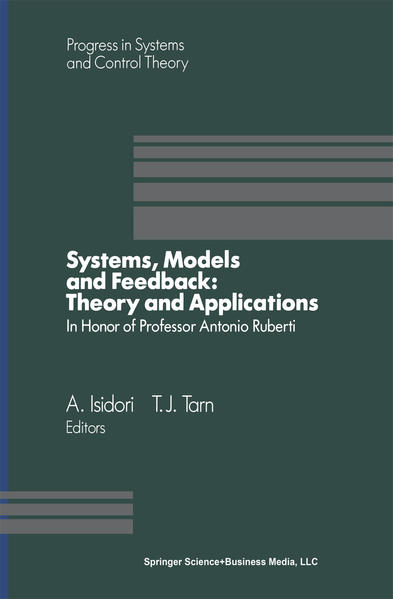 Systems, Models and Feedback: Theory and Applications - Coverbild