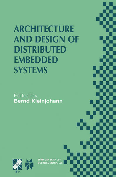 Architecture and Design of Distributed Embedded Systems - Coverbild