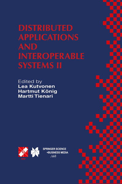 Distributed Applications and Interoperable Systems II - Coverbild