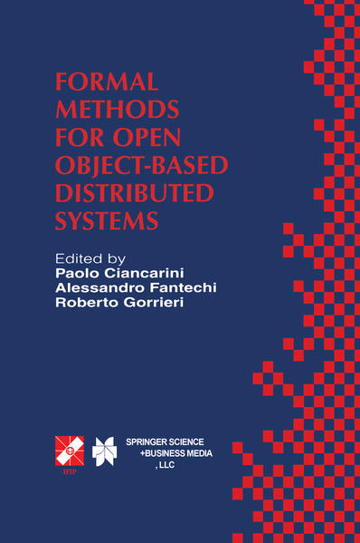 Formal Methods for Open Object-Based Distributed Systems - Coverbild