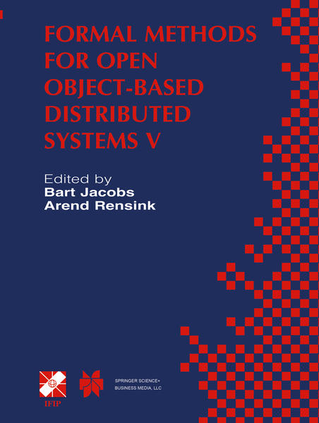 Formal Methods for Open Object-Based Distributed Systems V - Coverbild