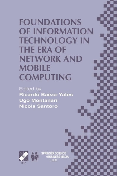 Foundations of Information Technology in the Era of Network and Mobile Computing - Coverbild