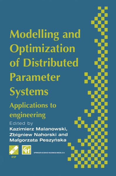 Modelling and Optimization of Distributed Parameter Systems Applications to engineering - Coverbild