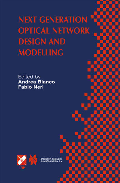 Next Generation Optical Network Design and Modelling - Coverbild
