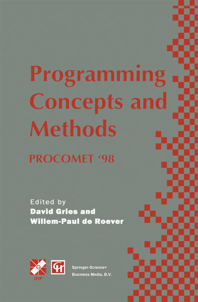 Programming Concepts and Methods PROCOMET '98 - Coverbild
