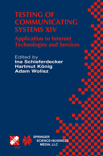 Testing of Communicating Systems XIV - Coverbild