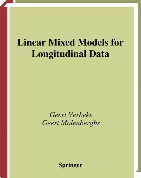 Linear Mixed Models for Longitudinal Data - Coverbild