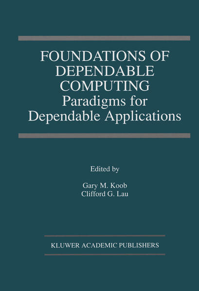 Foundations of Dependable Computing - Coverbild