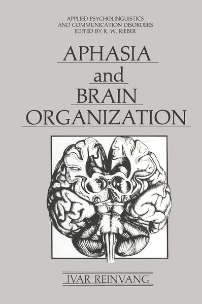 Aphasia and Brain Organization - Coverbild