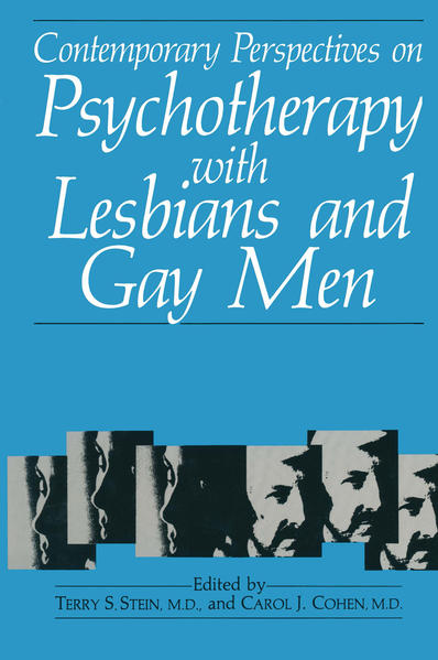 Contemporary Perspectives on Psychotherapy with Lesbians and Gay Men - Coverbild
