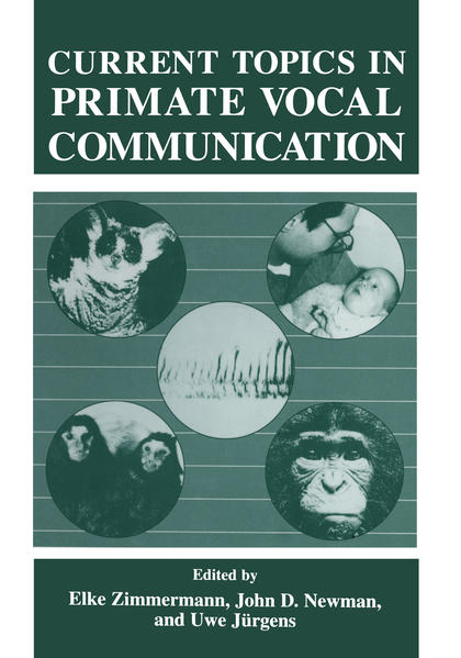 Current Topics in Primate Vocal Communication - Coverbild