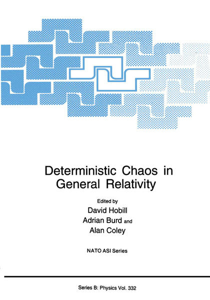 Deterministic Chaos in General Relativity - Coverbild