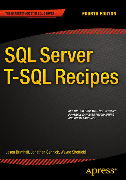 SQL Server T-SQL Recipes - Coverbild