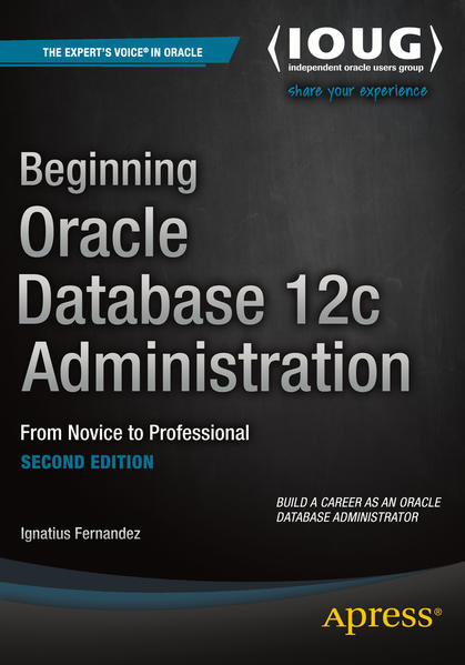 Beginning Oracle Database 12c Administration - Coverbild