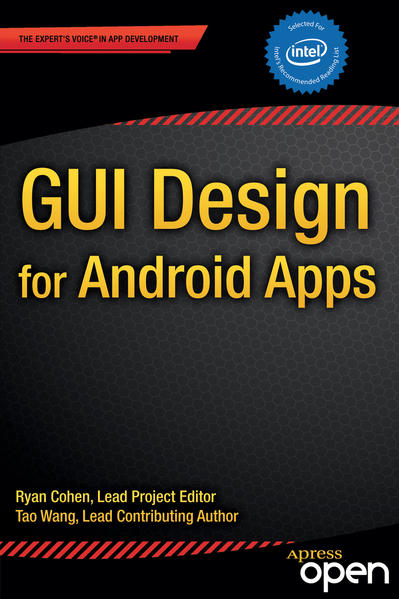 GUI Design for Android Apps - Coverbild