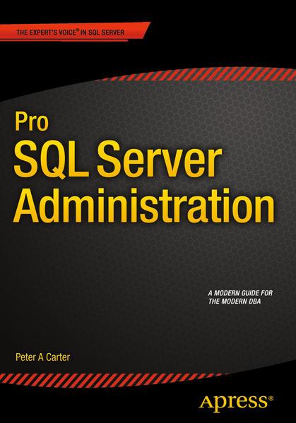 Pro SQL Server Administration - Coverbild