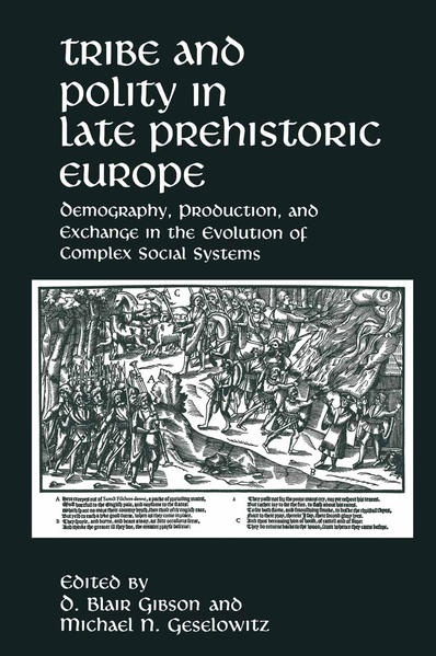 Tribe and Polity in Late Prehistoric Europe - Coverbild