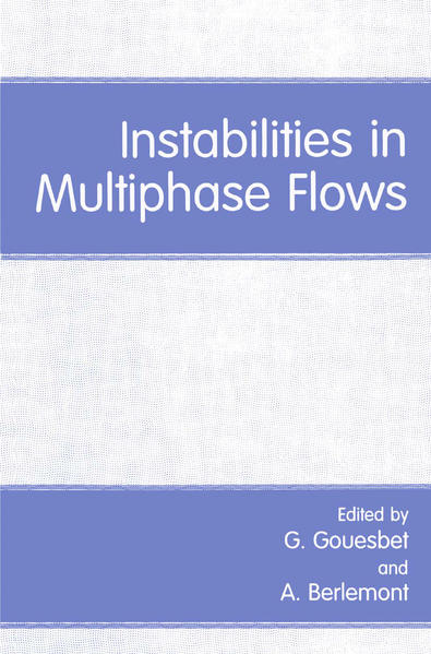 Instabilities in Multiphase Flows - Coverbild