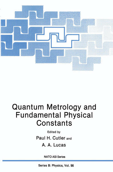 Quantum Metrology and Fundamental Physical Constants - Coverbild