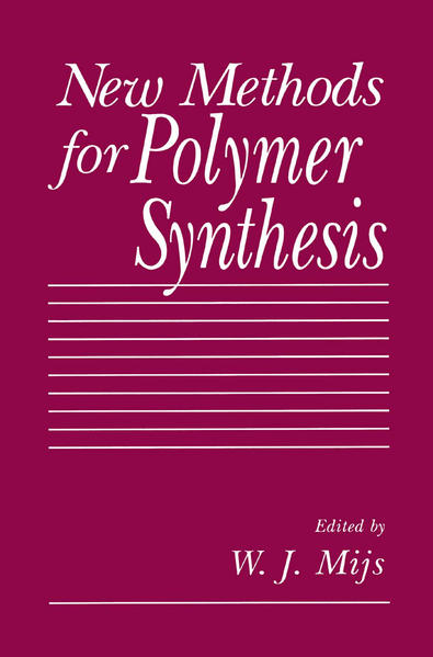 New Methods for Polymer Synthesis - Coverbild