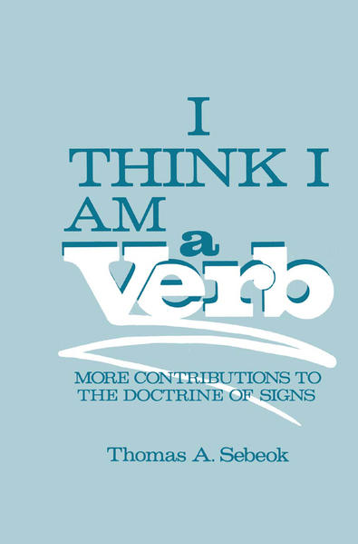 I Think I Am a Verb - Coverbild