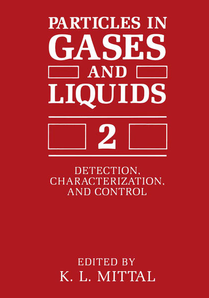 Particles in Gases and Liquids 2 - Coverbild