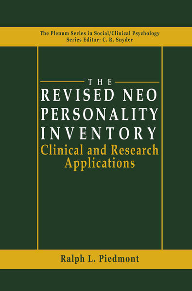The Revised NEO Personality Inventory - Coverbild