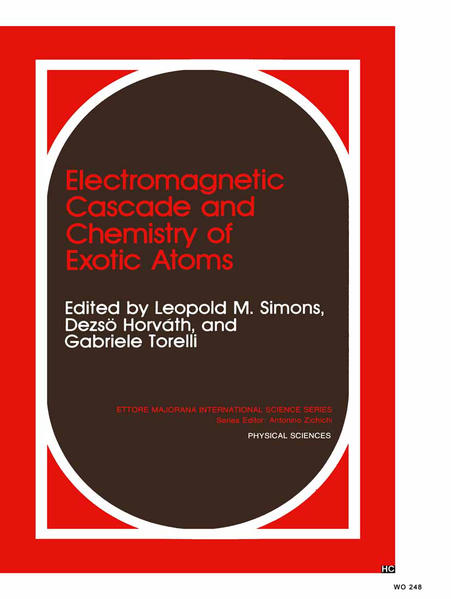 Electromagnetic Cascade and Chemistry of Exotic Atoms - Coverbild