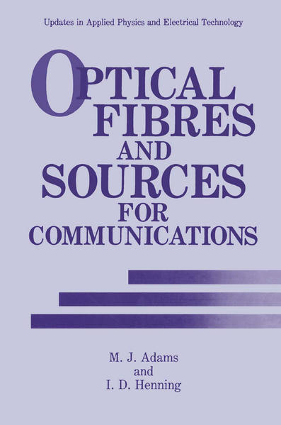 Optical Fibres and Sources for Communications - Coverbild