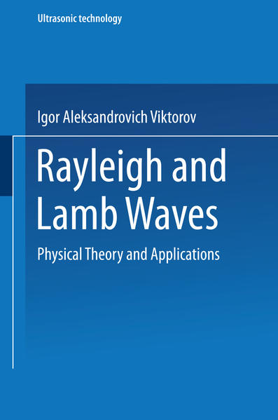 Rayleigh and Lamb Waves - Coverbild