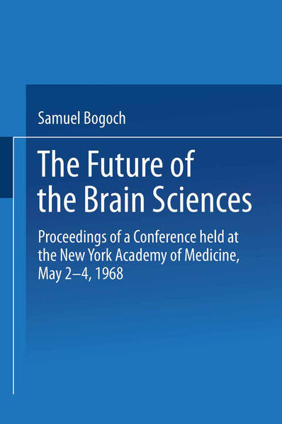 The Future of the Brain Sciences - Coverbild
