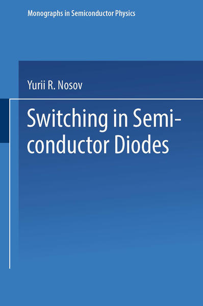 Switching in Semiconductor Diodes - Coverbild