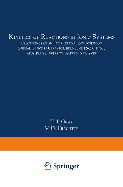 Kinetics of Reactions in Ionic Systems - Coverbild