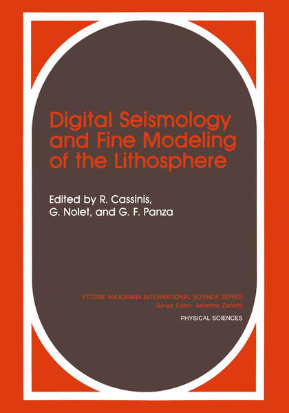 Digital Seismology and Fine Modeling of the Lithosphere - Coverbild