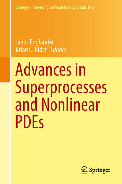 Advances in Superprocesses and Nonlinear PDEs - Coverbild