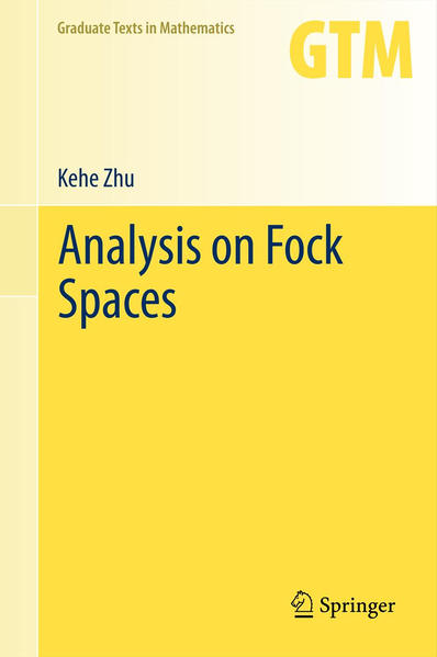 Analysis on Fock Spaces - Coverbild