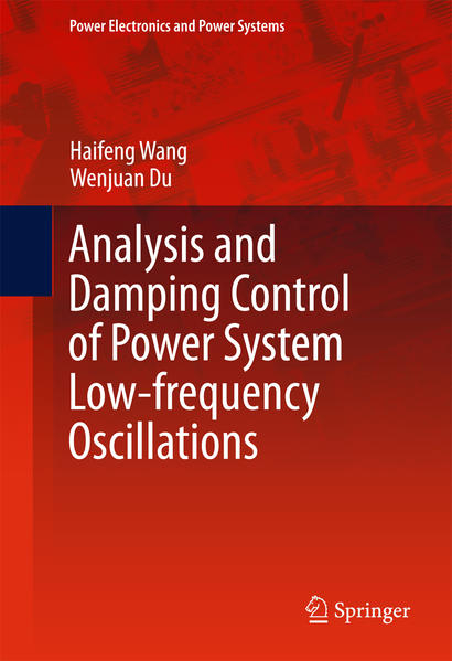 Analysis and Damping Control of Power System Low-frequency Oscillations - Coverbild