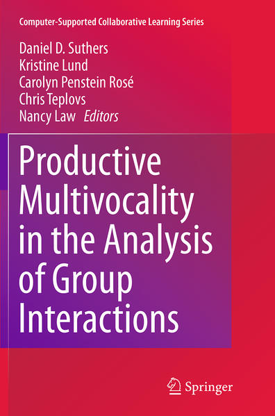 Productive Multivocality in the Analysis of Group Interactions - Coverbild