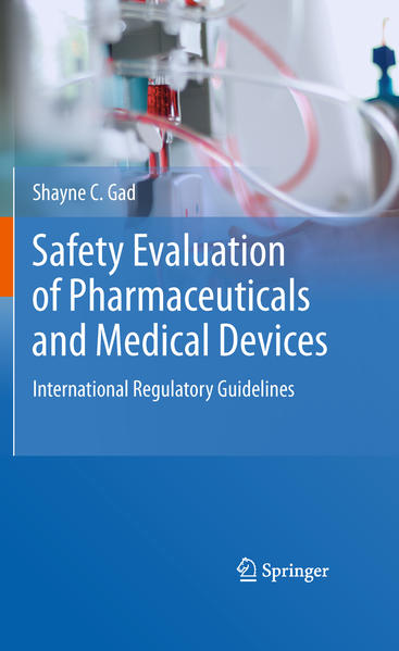 Safety Evaluation of Pharmaceuticals and Medical Devices - Coverbild