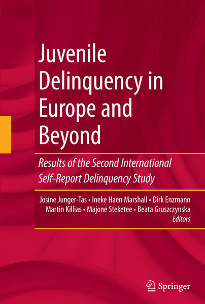 Juvenile Delinquency in Europe and Beyond - Coverbild