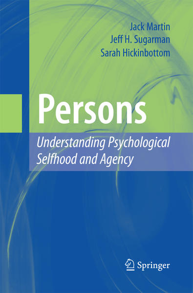 Persons: Understanding Psychological Selfhood and Agency - Coverbild