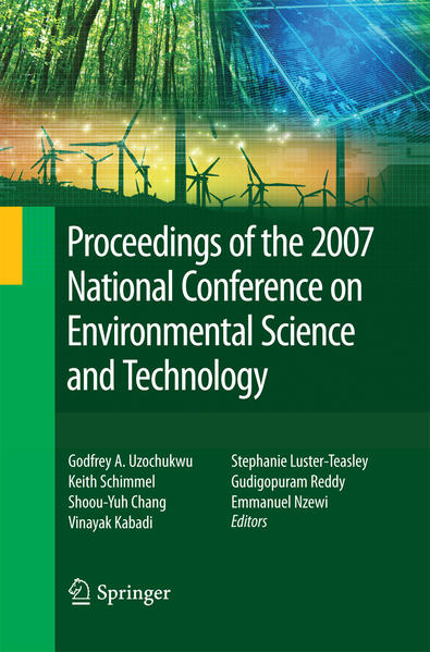 Proceedings of the 2007 National Conference on Environmental Science and Technology - Coverbild