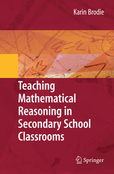 Teaching Mathematical Reasoning in Secondary School Classrooms - Coverbild