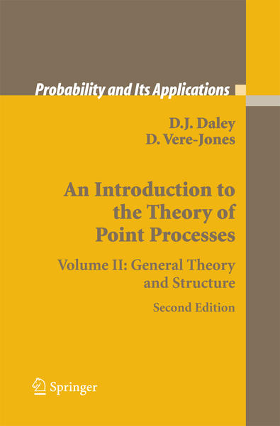 An Introduction to the Theory of Point Processes - Coverbild