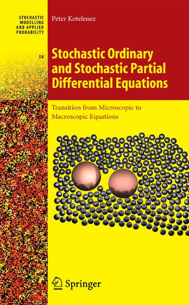 Stochastic Ordinary and Stochastic Partial Differential Equations - Coverbild