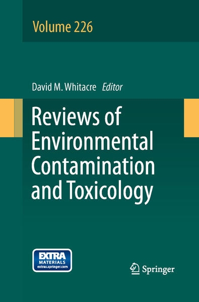 Reviews of Environmental Contamination and Toxicology Volume 226 - Coverbild